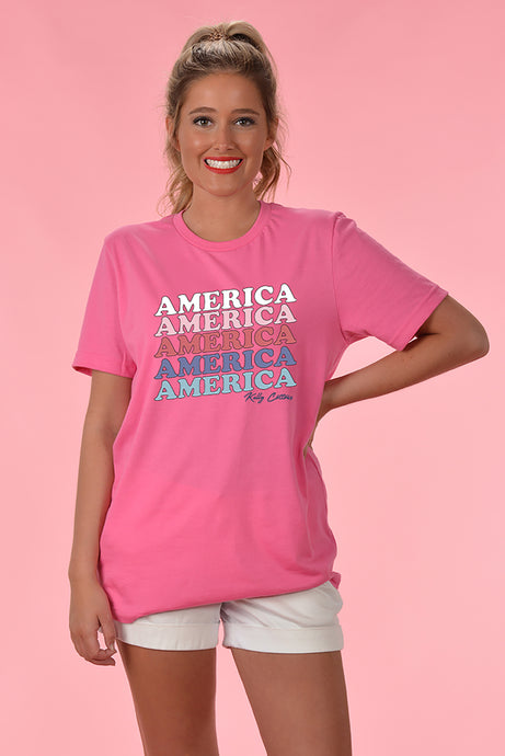 America Tee - Kelly Cottons