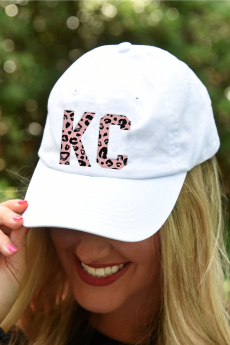 Blush Leopard KC Hat - Kelly Cottons