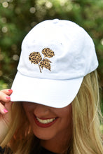 Load image into Gallery viewer, Classic Leopard Cotton Boll Hat - Kelly Cottons