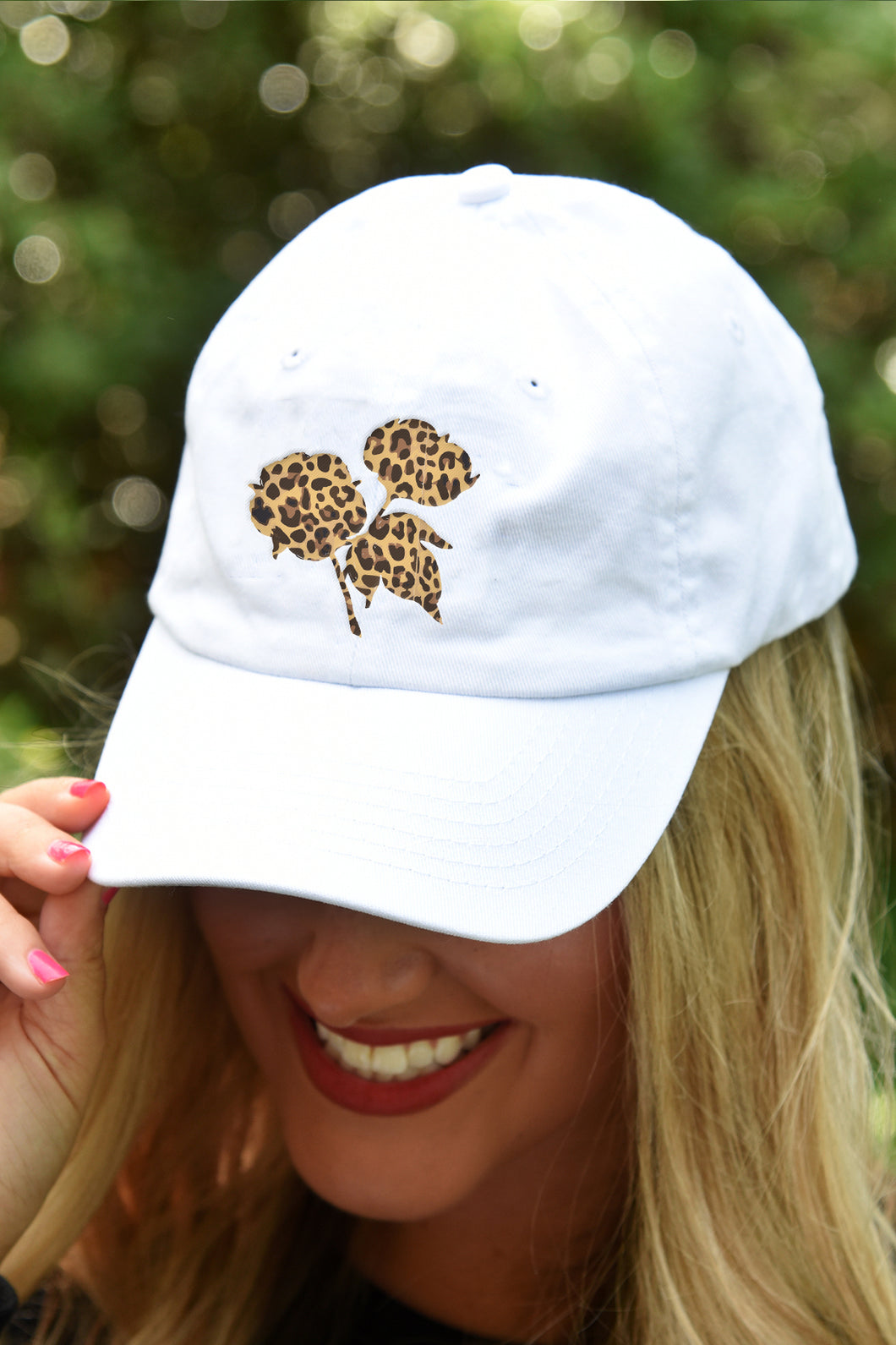Classic Leopard Cotton Boll Hat - Kelly Cottons