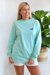 Frilly Cotton Boll - Long Sleeve Tee