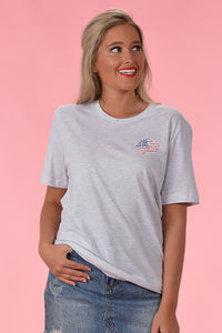 KC Flag Tee - Kelly Cottons
