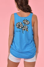 Load image into Gallery viewer, Leopard Cotton Boll Tank - Kelly Cottons