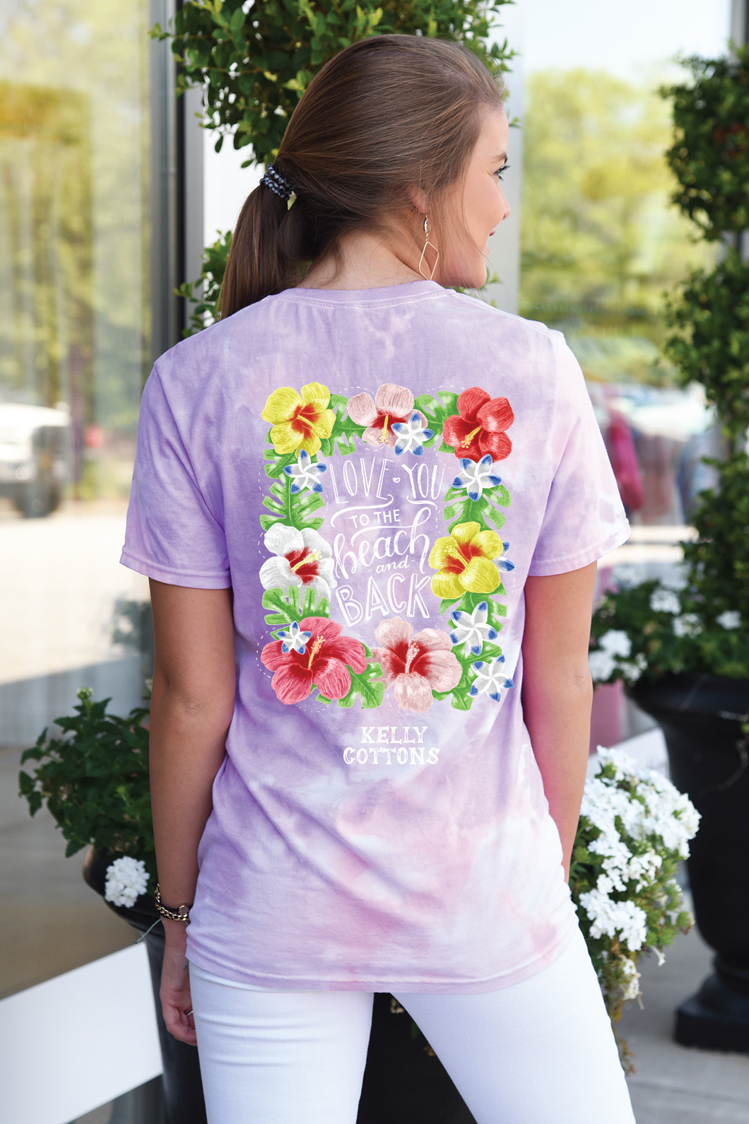 Love You To The Beach - Tie Dye
