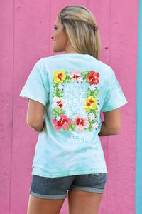 Love You To The Beach - Tie Dye - Kelly Cottons