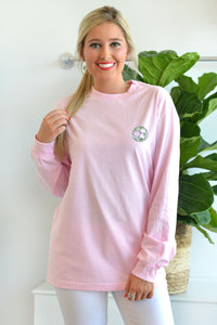 Magnolia Cotton Boll - Long Sleeve Tee