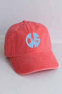 KC Cotton Boll Monogrammed Hat