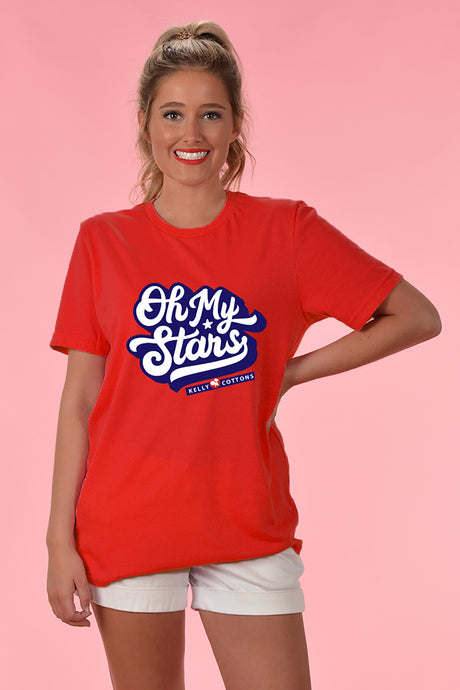 Oh My Stars Tee - Kelly Cottons
