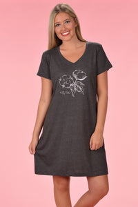 Sleep Dress - Vintage Smoke - Kelly Cottons