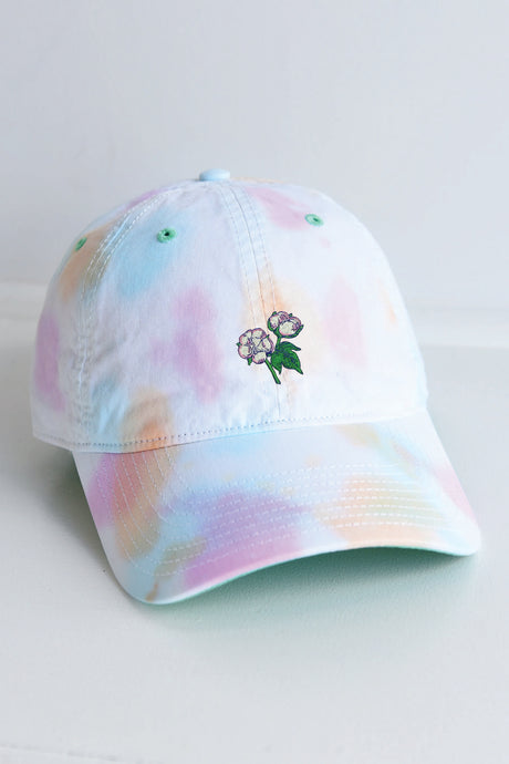 Tie Dye Cotton Boll Hat - Kelly Cottons