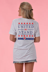 United We Stand Tee - Kelly Cottons