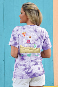 Vacation Calories - Tie Dye - Kelly Cottons
