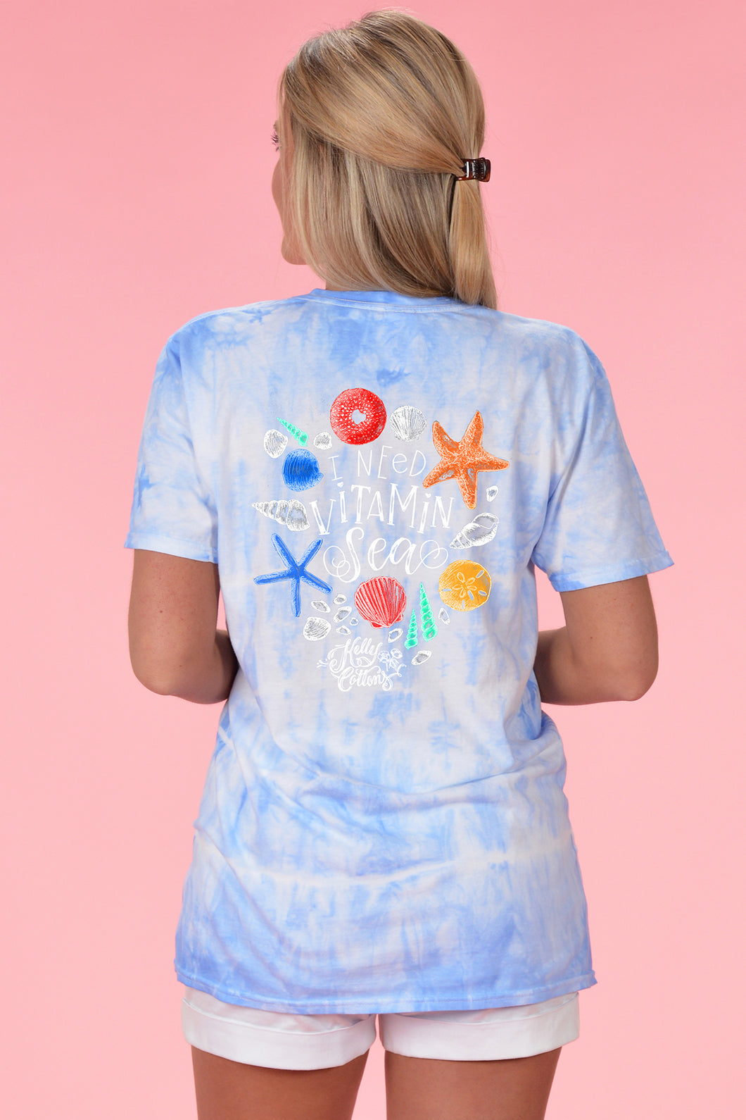 Vitamin Sea Tie Dye - Kelly Cottons