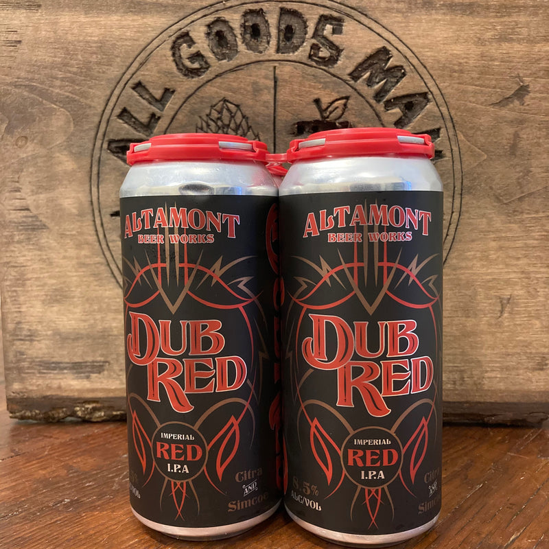Dub Red | Red IPA | 8.5%