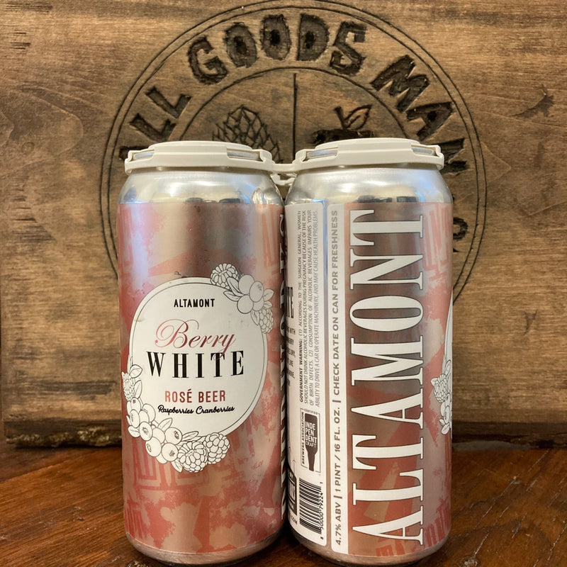 Berry White | Witbier | 4.7%