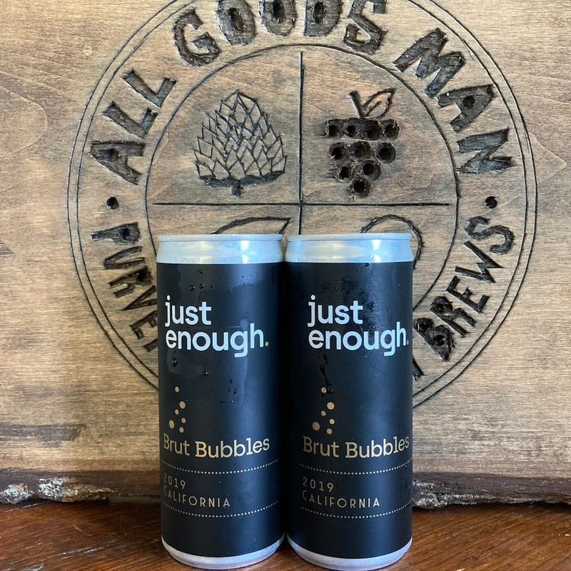 Brut Bubbles | Just Enough | 12.3%