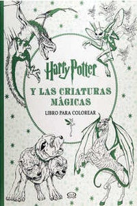 Harry Potter y las criaturas mágicas para colorear
