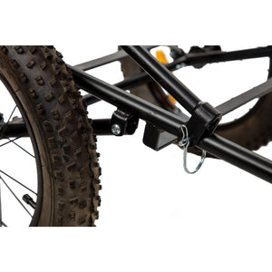 Folding Deer Trailer for Mule or Storm Electric Bike - Electric Bikes