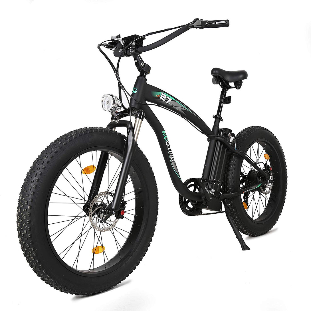 Hammer Electric Fat Tire Beach Snow Bike - Electric Bikes
