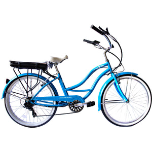 "Micargi Bali Female 26"" E-Bike 350W Commuter Electric Bicycle"