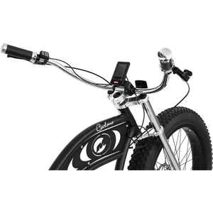 Micargi 26″ Cyclone Fat Tire Electric Chopper Style Cruiser Bicycle