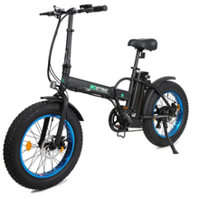 48V Fat Tire Portable & Folding Electric Bike with LCD display - Electric Bikes