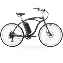 "Firmstrong Urban Man 26"" 350W Seven Speed Beach Cruiser Electric Bicycle - Electric Bikes"