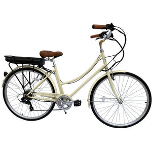 "Micargi Holland V7 Female 28"" E-Bike 350W Commuter Electric Bicycle"