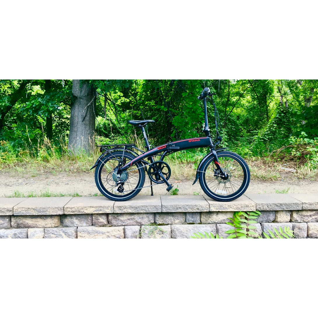 Oyama CX E8D Series II folding electric bike