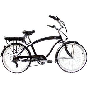 "Micargi Luna Male 26"" E-Bike 350W Commuter Electric Bicycle"