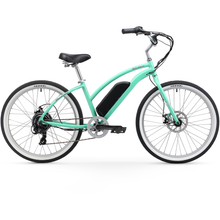 "Firmstrong Urban Lady 26"" 350W Seven Speed Beach Cruiser Electric Bicycle - Electric Bikes"