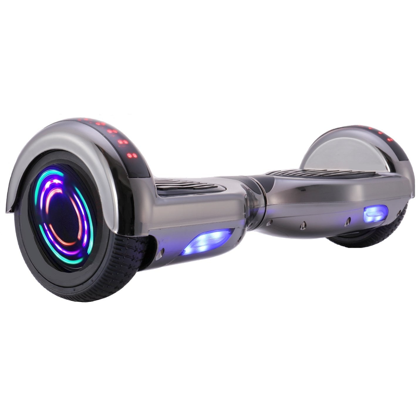 GLAREWHEEL CHROME HOVERBOARD M1B - Electric Bikes