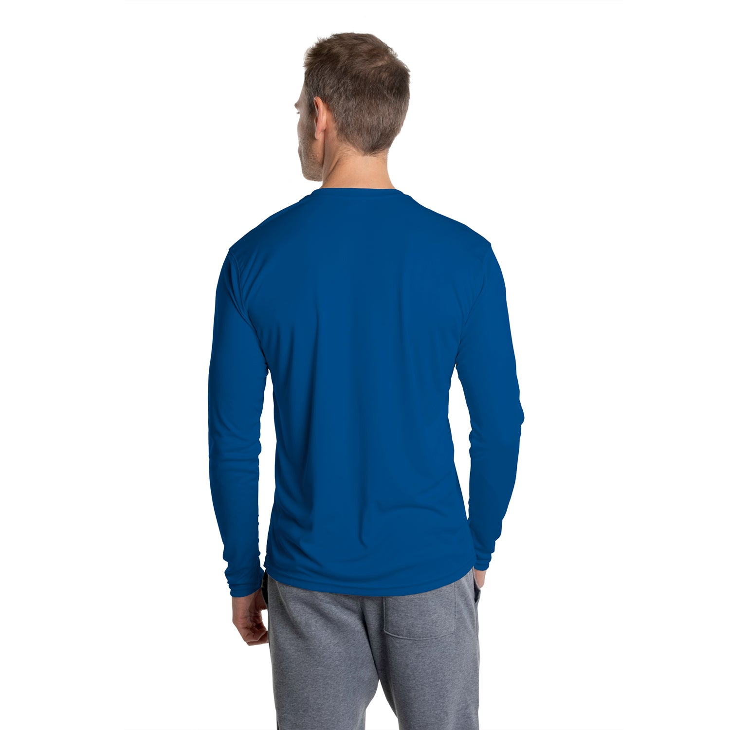 R710RB Solar Repreve® Long Sleeve - Royal Blue