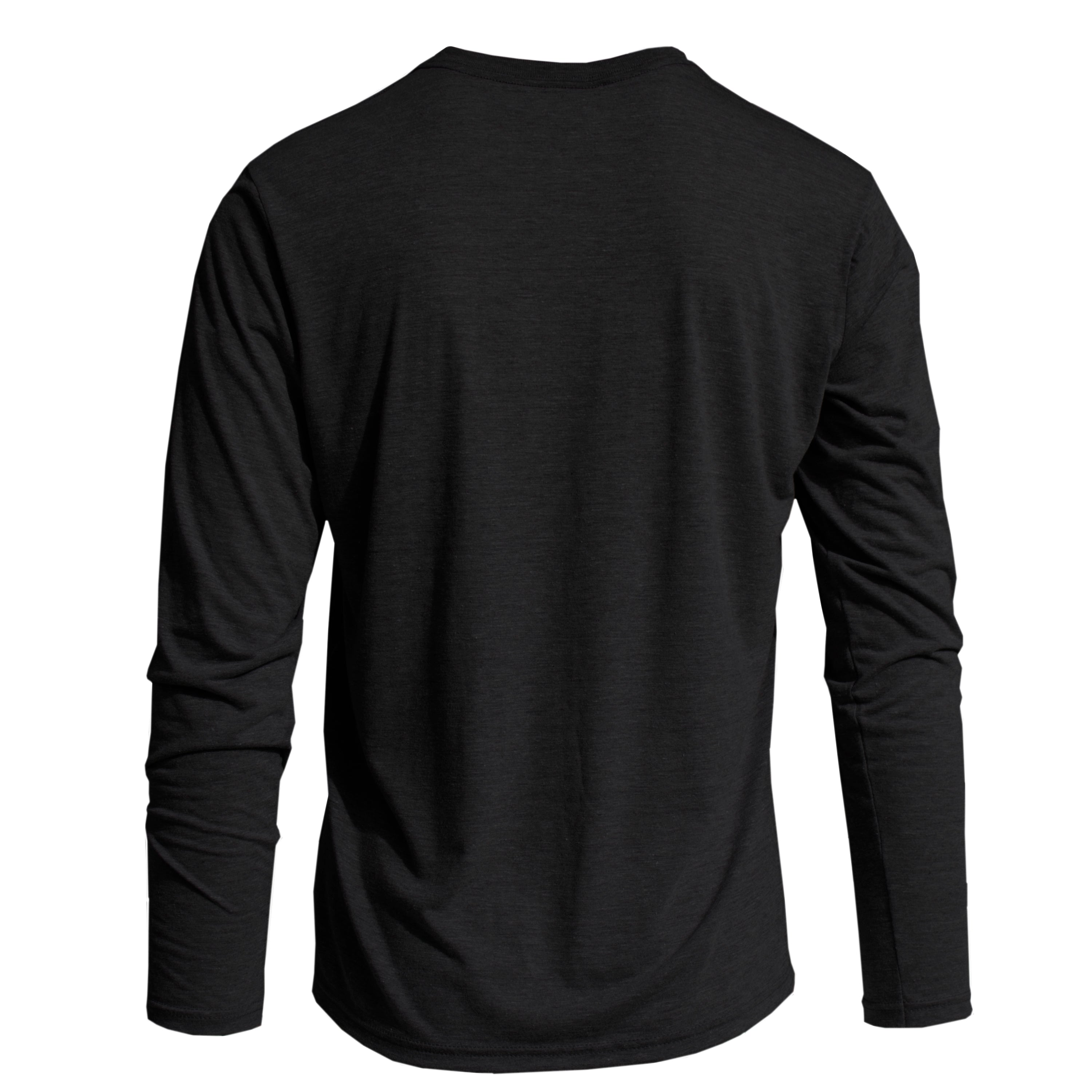 RM701CK REPREVE® Recycled Triblend Long Sleeve - Charblack