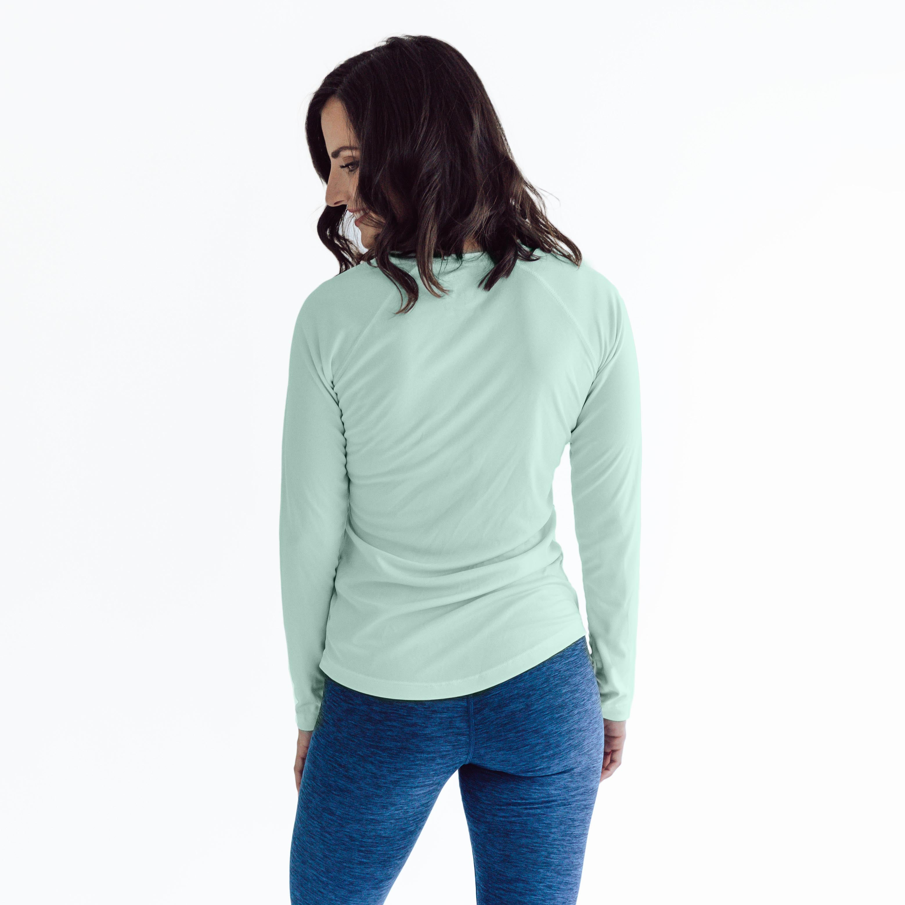 W850SG Ladies Classic Fit Solar Long Sleeve - Seagrass