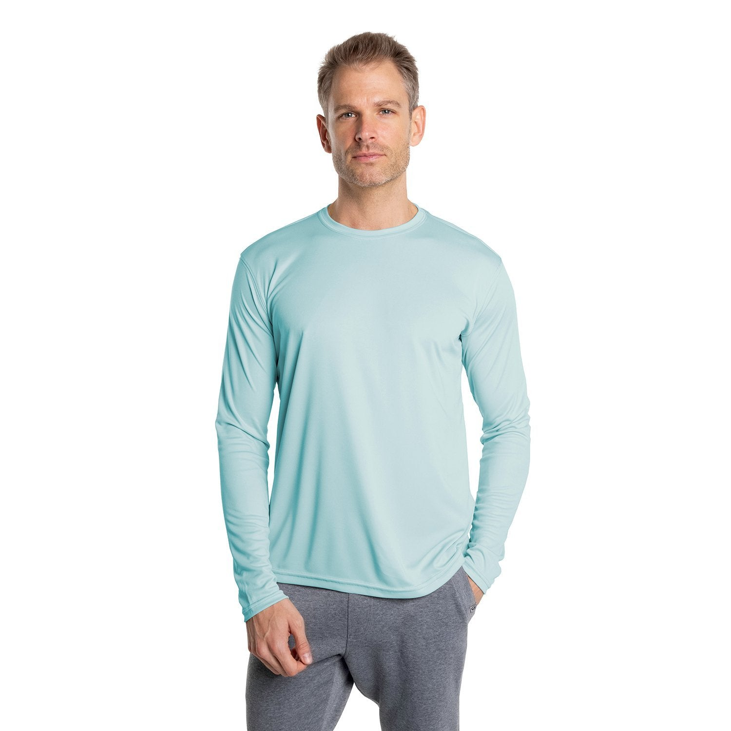 M700AB Solar Long Sleeve - Arctic Blue