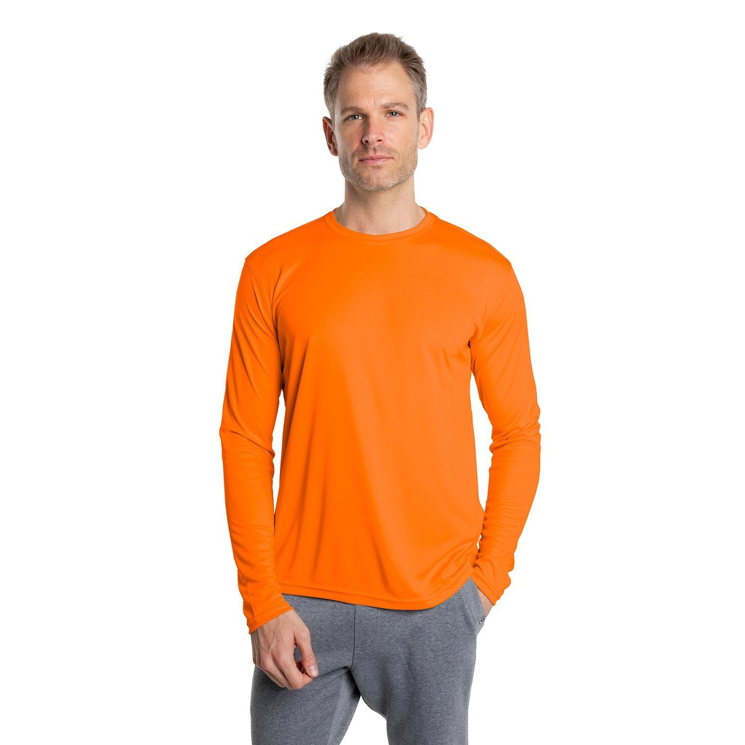 M700SO Solar Long Sleeve - Safety Orange