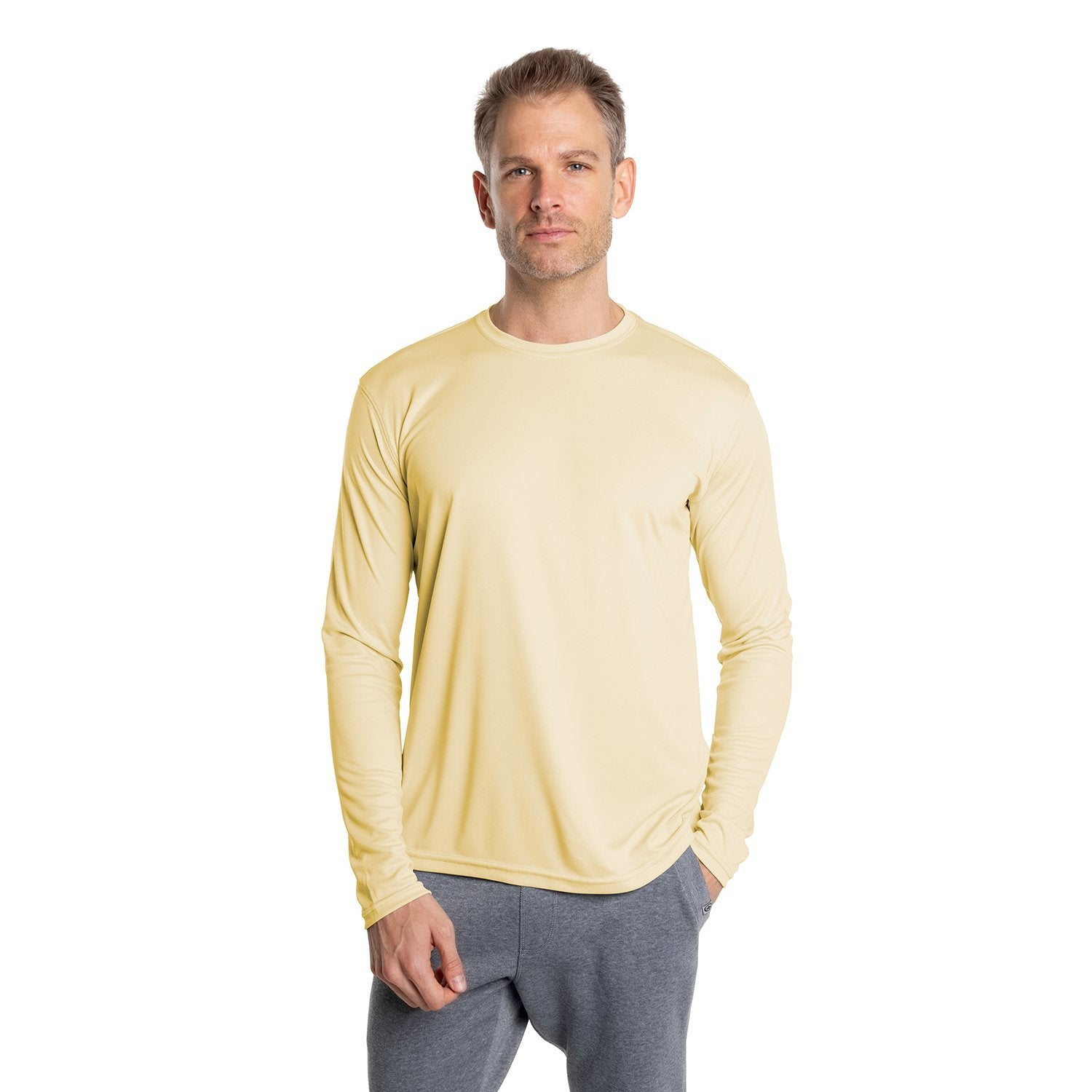 M700PY Solar Long Sleeve - Pale Yellow