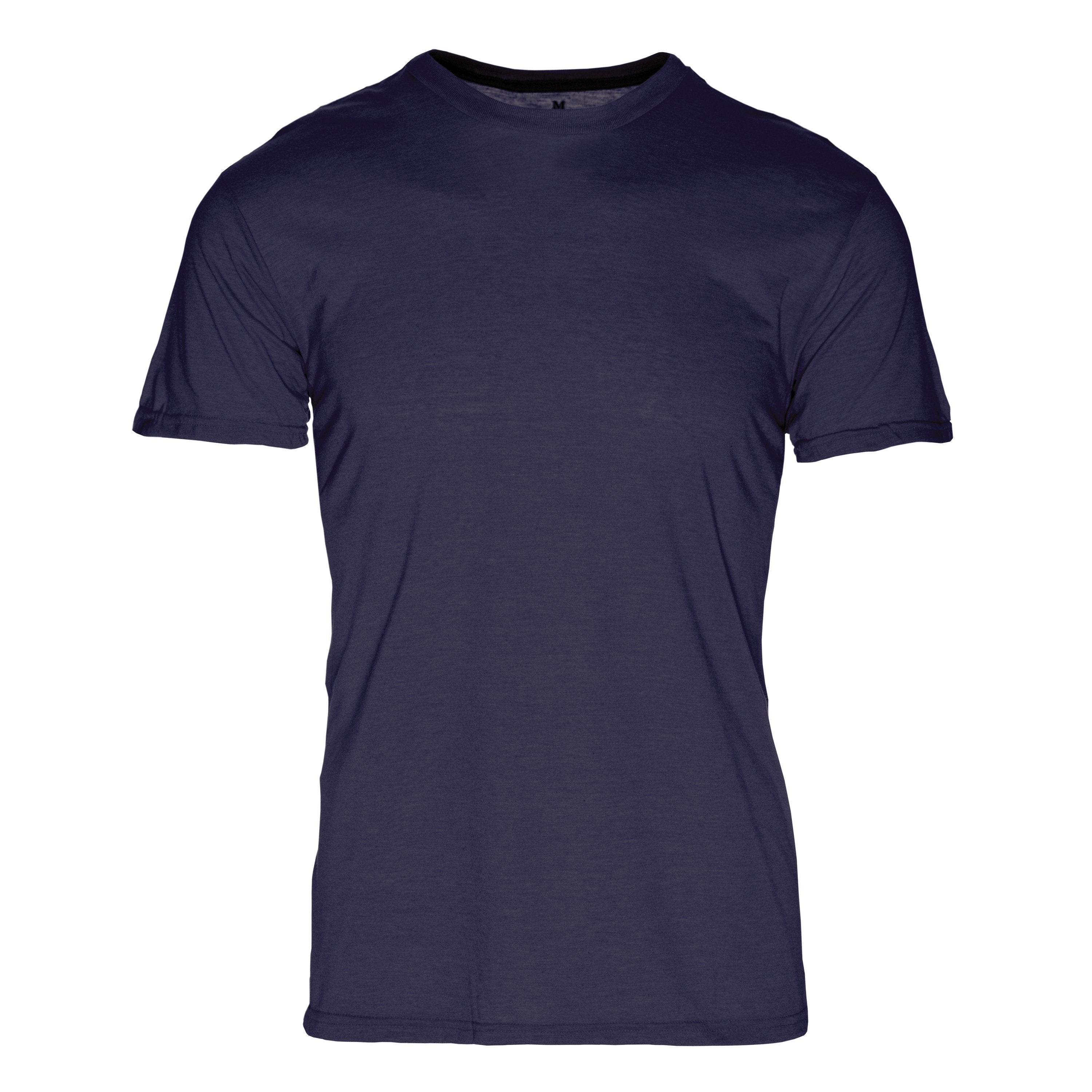 PC101NV Eco REPREVE® Recycled Polyester/Cotton Crew T-Shirt - Navy