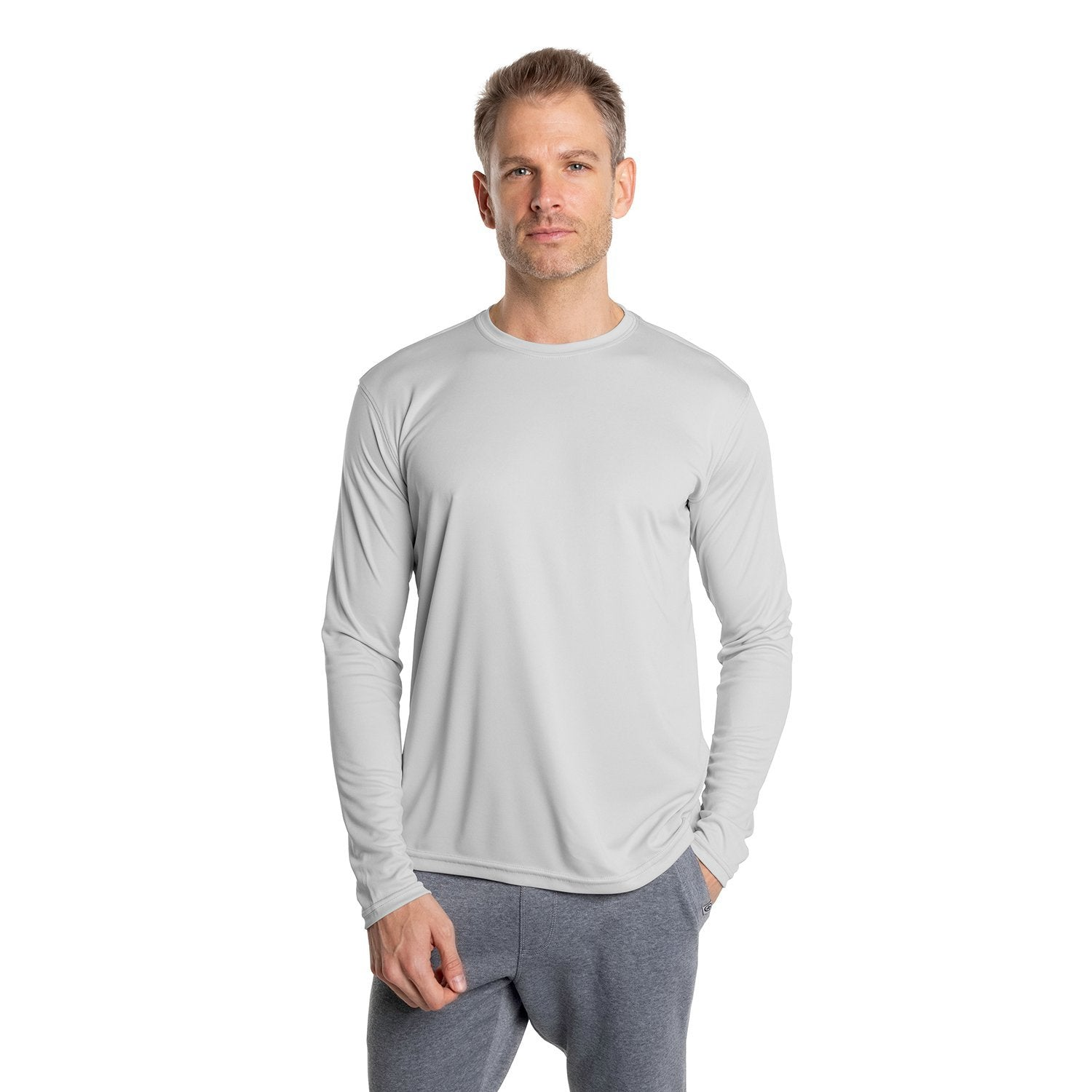 M700PG Solar Long Sleeve - Pearl Grey