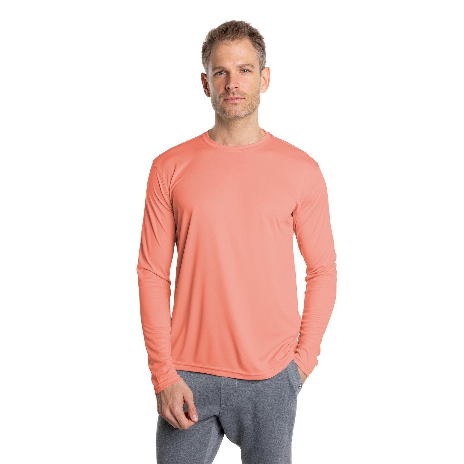 M700SA Solar Long Sleeve - Salmon