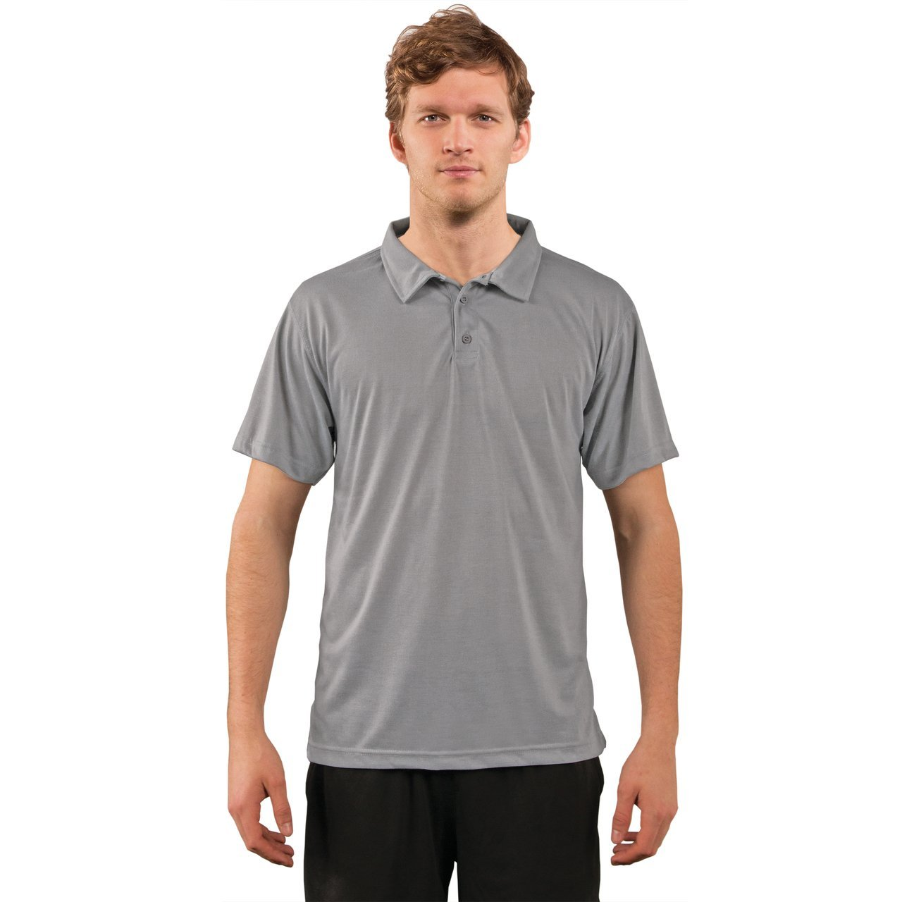 A1SJBPST Basic Performance Polo - Steel