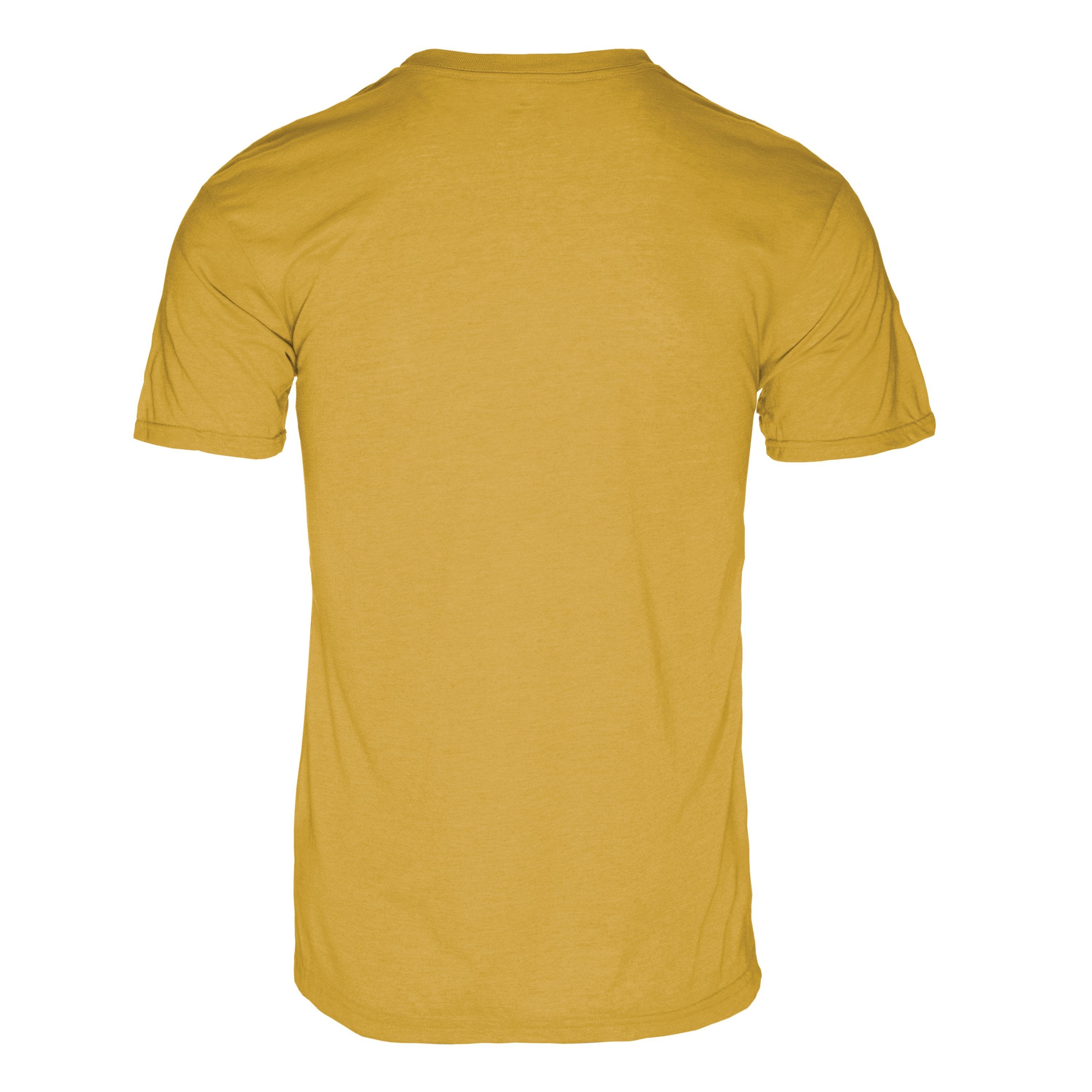 RM100MY Eco REPREVE® Recycled Triblend Crew T-Shirt - Maize Yellow