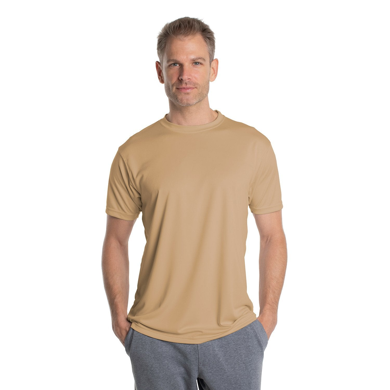 M100TN Solar Short Sleeve - Tan