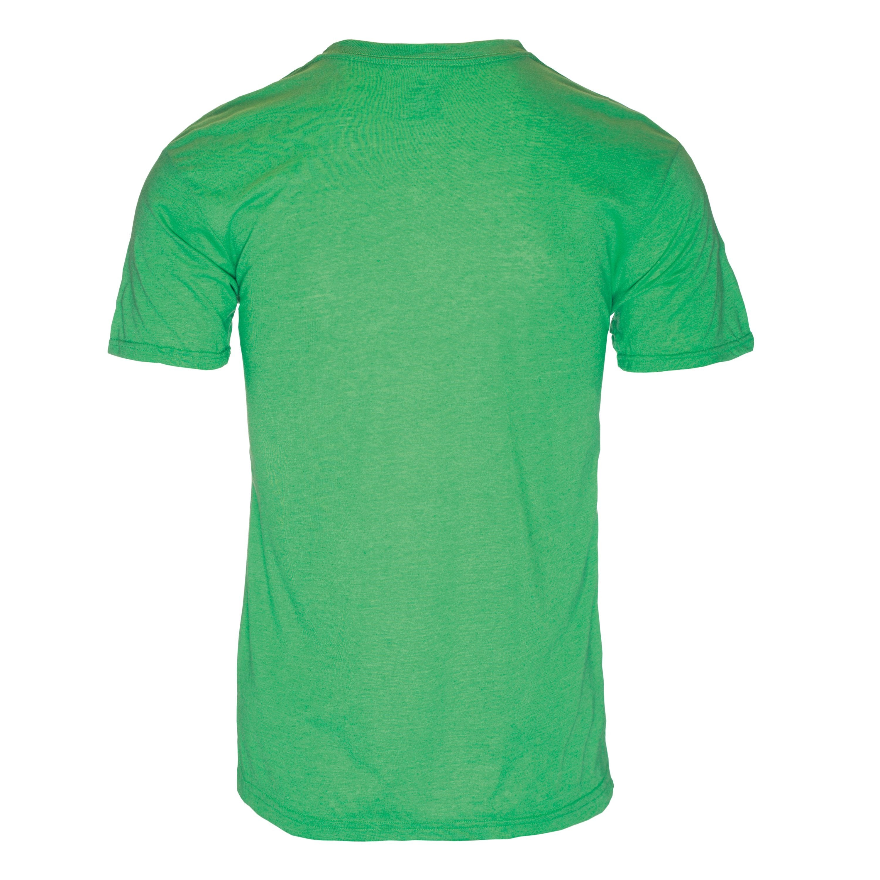 RM100GN Eco REPREVE® Recycled Triblend Crew T-Shirt - Green