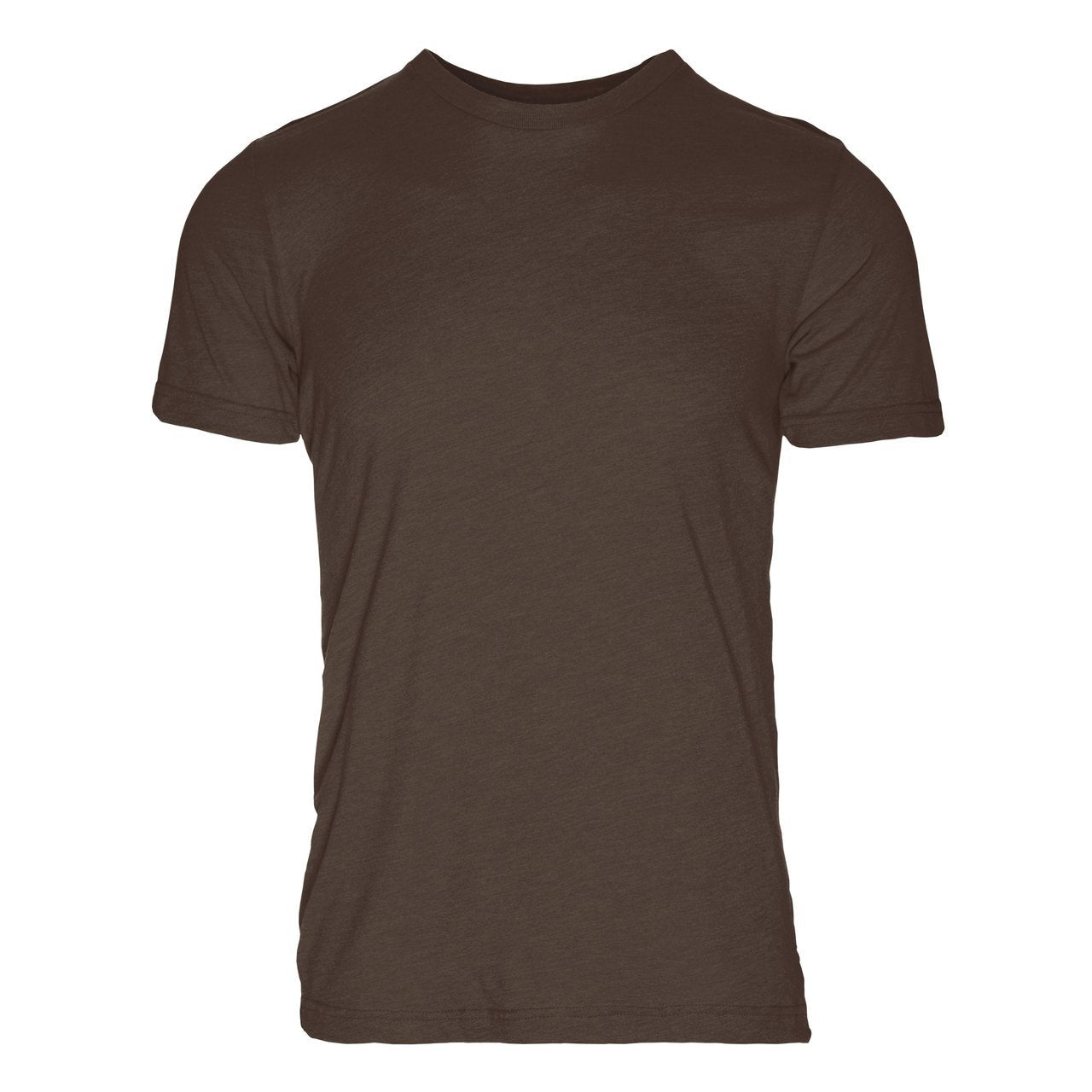 PC100BN Eco REPREVE® Recycled Polyester/Cotton Crew T-Shirt - Brown