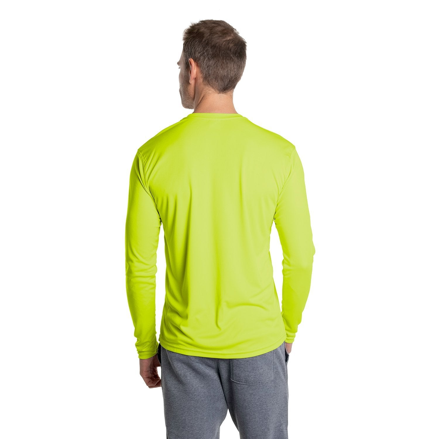 M700SY Solar Long Sleeve - Safety Yellow