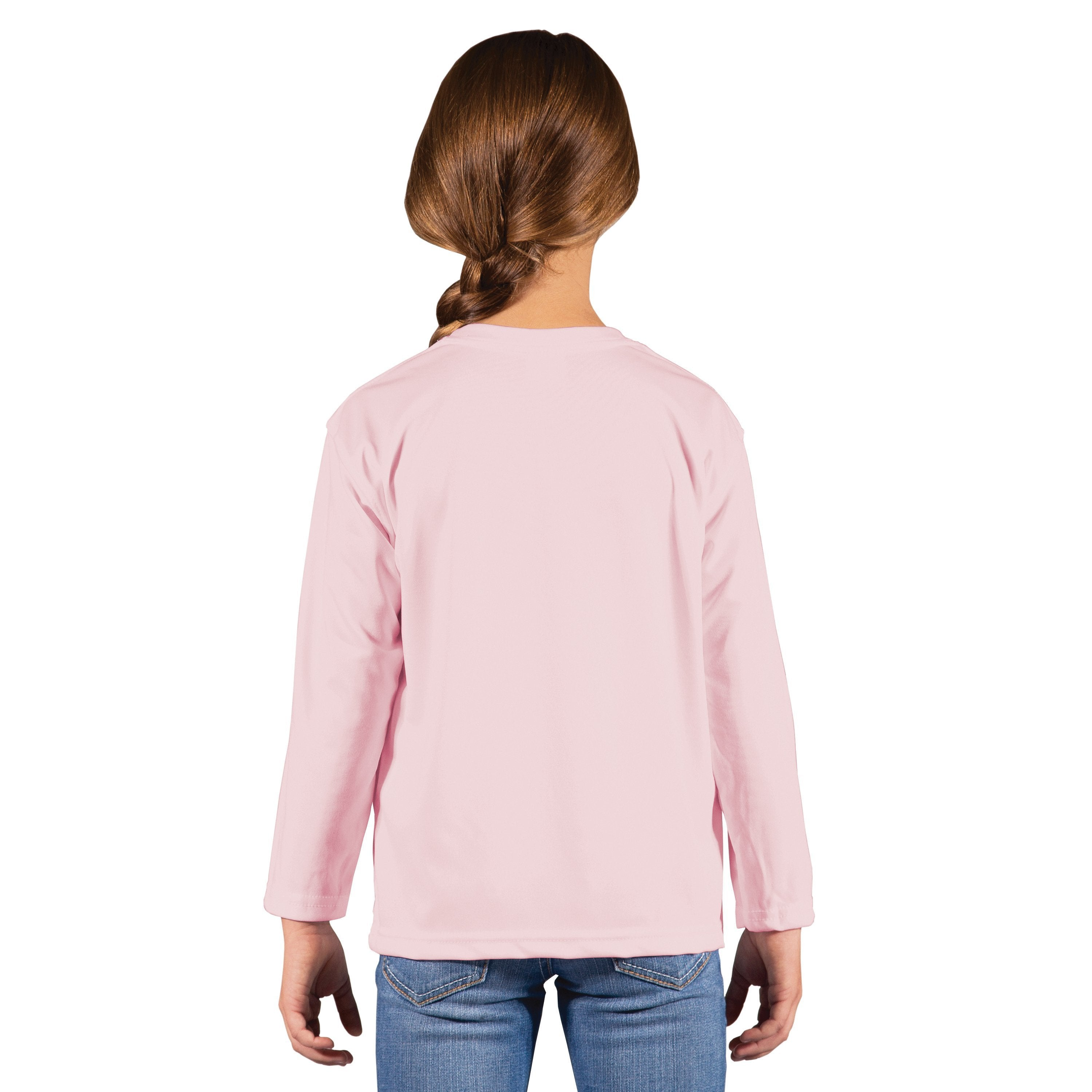 M780PB Youth Solar Long Sleeve - Pink Blossom
