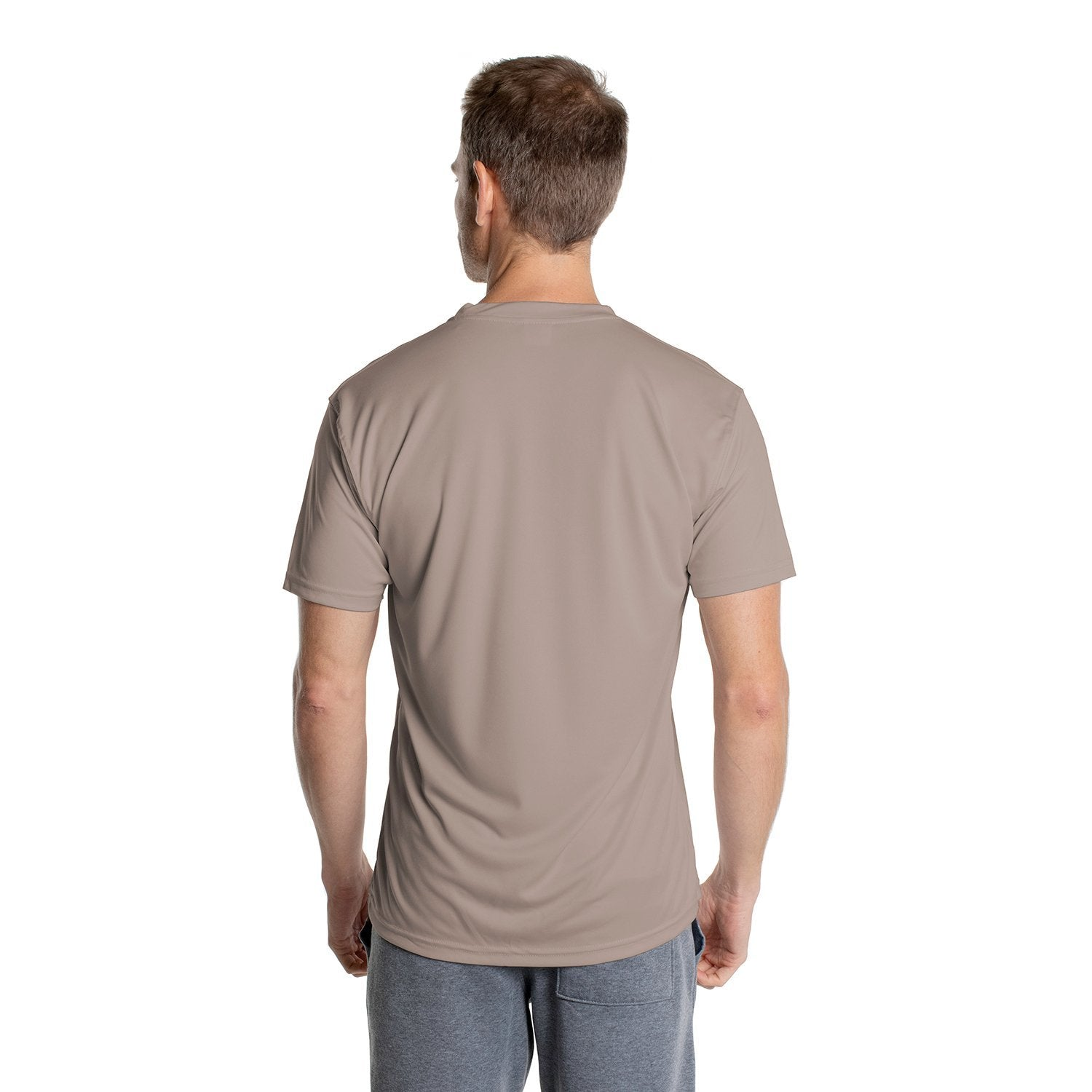 M100AG Solar Short Sleeve - Athletic Grey