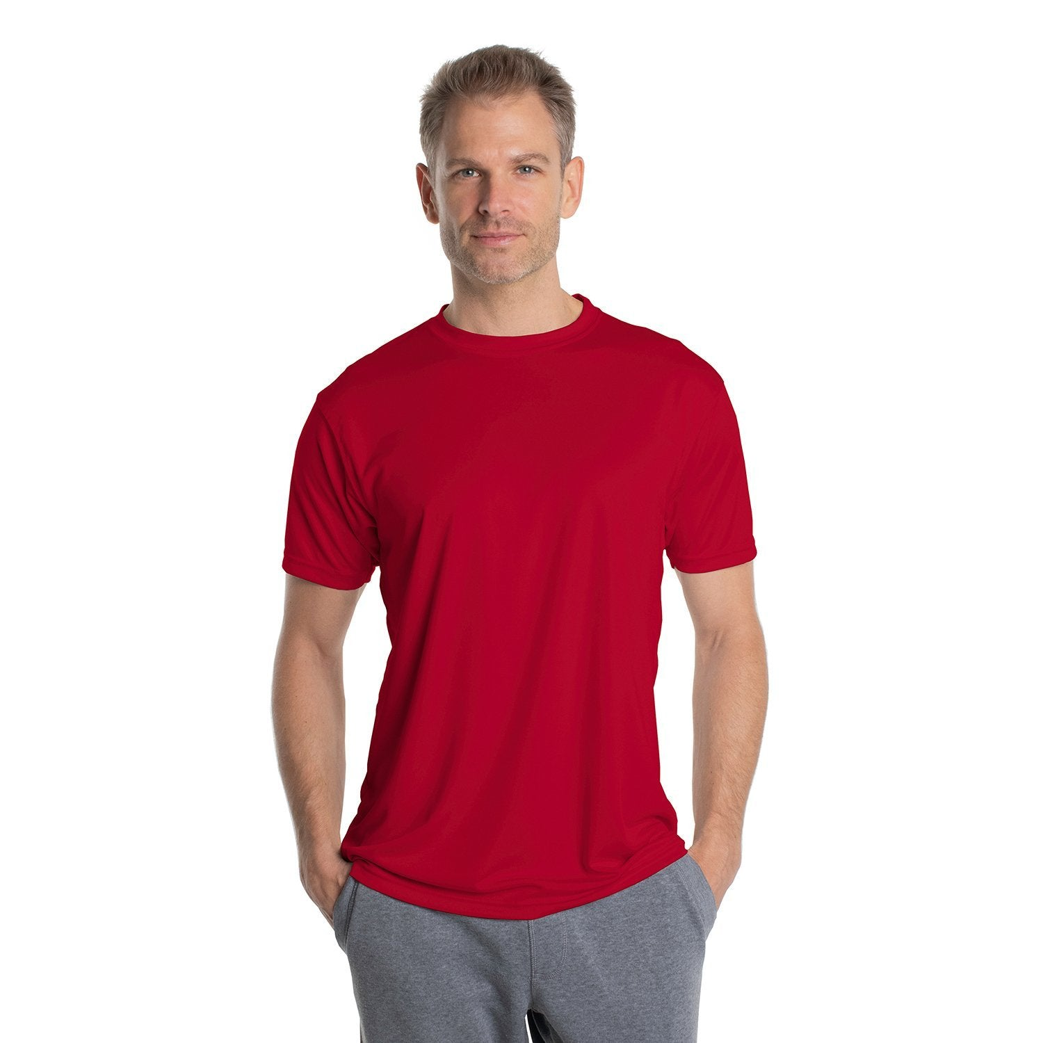 M100MR Solar Short Sleeve - Mars Red